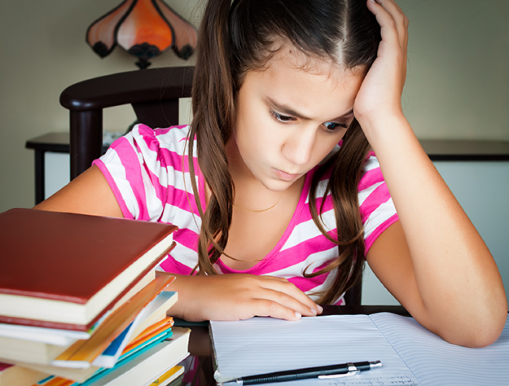 Childhood Anxiety From Pressure At School